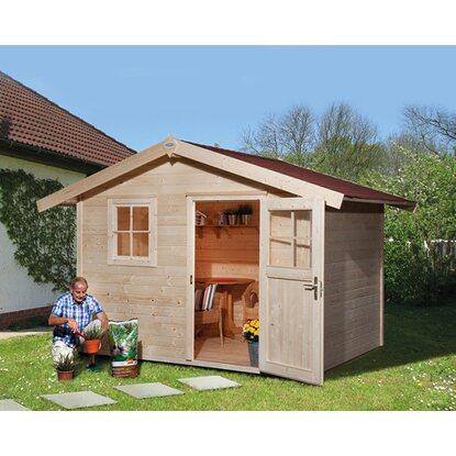 obi holz gartenhaus bozen a 240 cm x 205 cm kaufen bei obi. Black Bedroom Furniture Sets. Home Design Ideas