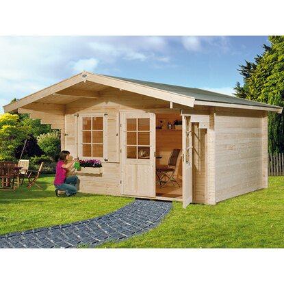 obi holz gartenhaus riva b b x t 380 cm x 380 cm kaufen bei obi. Black Bedroom Furniture Sets. Home Design Ideas
