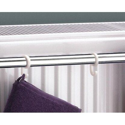 ximax zubehoer handtuchhalter fuer kompaktheizkoerper  mm