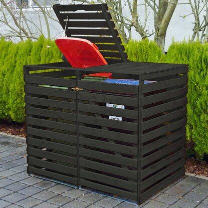 m lltonnenbox vario v f r 2 tonnen anthrazit kaufen bei obi. Black Bedroom Furniture Sets. Home Design Ideas