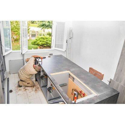 obi komplettservice f r ihre respekta k chenzeile 330 cm 380 cm kaufen bei obi. Black Bedroom Furniture Sets. Home Design Ideas
