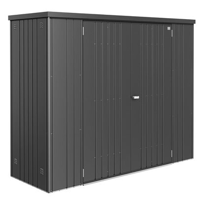 biohort ger teschrank gr 230 dunkelgrau metallic kaufen bei obi. Black Bedroom Furniture Sets. Home Design Ideas