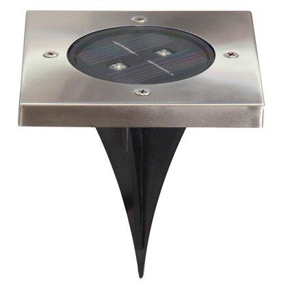 led solar bodenleuchte torino eckig kaufen bei obi. Black Bedroom Furniture Sets. Home Design Ideas
