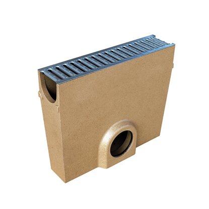 aco self einlaufkasten f standardline mit stegrost kaufen. Black Bedroom Furniture Sets. Home Design Ideas
