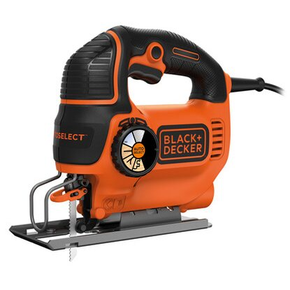 Black+Decker Pendelhub-Stichsäge KS801SEK 550 W