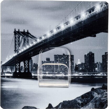 Wenko Static-Loc Taschenhalter Manhattan Bridge