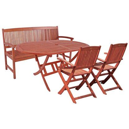 garden pleasure bank set stockholm 6 tlg holz kaufen bei obi. Black Bedroom Furniture Sets. Home Design Ideas