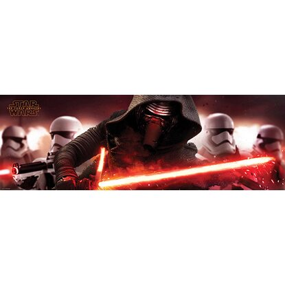 Wandbild star wars the force awakens kylo ren 156 cm x 52 cm kaufen bei obi - Star wars wandbild ...