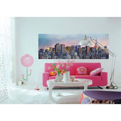 fototapete skyline von manhattan 366 cm x 127 cm kaufen bei obi. Black Bedroom Furniture Sets. Home Design Ideas