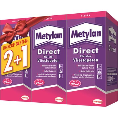 Metylan Direct Rollkleister 3 x 200 g