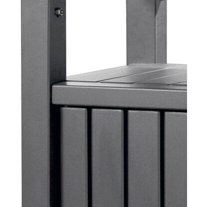 keter grill beistelltisch 90 cm x 123 7 cm x 54 cm. Black Bedroom Furniture Sets. Home Design Ideas