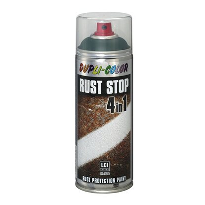 Dupli-Color Lackspray Rust Stop RAL 6005 Moosgrün Seidenmatt 400 ml