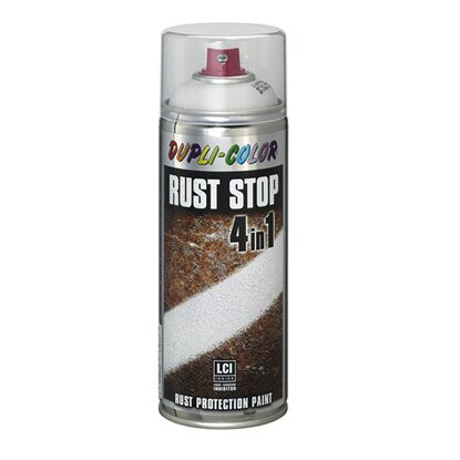 Dupli-Color Lackspray Rust Stop RAL 7035 Lichtgrau Seidenmatt 400 ml