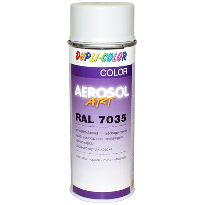 Dupli-Color Lackspray Aerosol-Art RAL 7035 Lichtgrau matt 400 ml