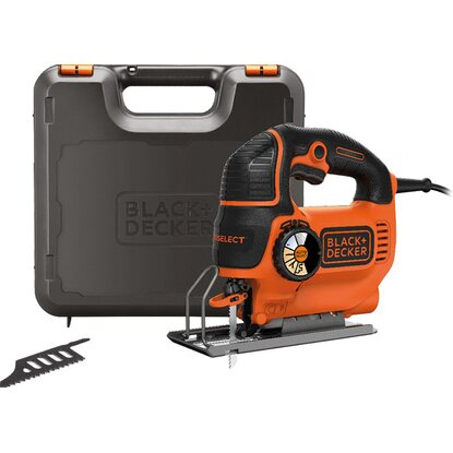 Black+Decker Pendelhub-Stichsäge AutoSelect KS901SEK