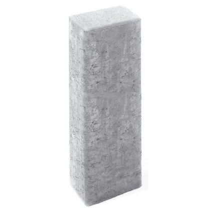 rechteck palisade aus beton grau 60 cm x 16 5 cm x 12 cm. Black Bedroom Furniture Sets. Home Design Ideas