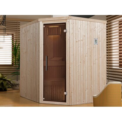 Weka Elementsauna 508 OS Set 230 V mit Glastür