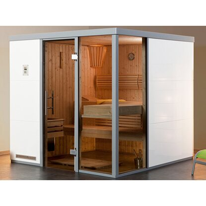 Weka Elementsauna I R Bianco OS Set 7,5 KW