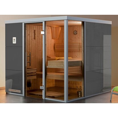Weka Elementsauna I R Grigio BioS Set 7,5 KW