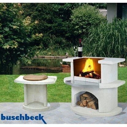 buschbeck grillbar venedig wei mit beistelltisch georgia kaufen bei obi. Black Bedroom Furniture Sets. Home Design Ideas