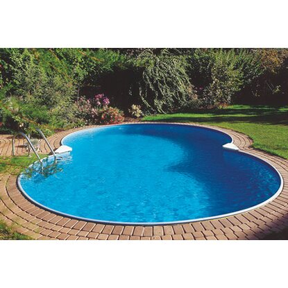 Summer Fun Stahlwand Pool-Set CALIFORNIA Tiefb. Achtf. 725 x 460 x 120cm