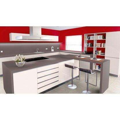 arbeitsplatte 60 cm x 3 9 cm anthrazit grau a41 pe max 4 1 m kaufen bei obi. Black Bedroom Furniture Sets. Home Design Ideas