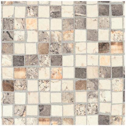 Arbeitsplatte 60 cm x 2 9 cm mosaiko braun beige ms234 cr for Kuchenruckwand arbeitsplatte