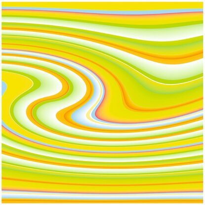 Kantenumleimer 65 cm x 4,4 cm Dancing Stripes Gelb (DS862 FB)