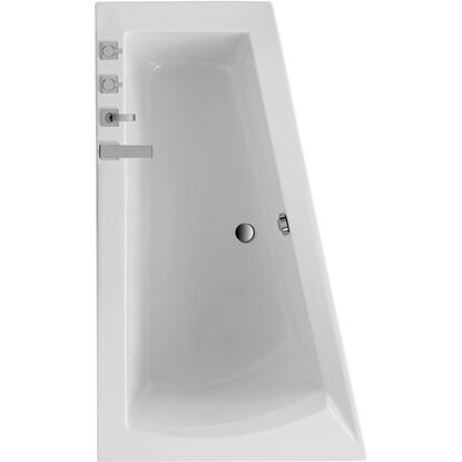 Badewanne Galia I 1700 mm x 1000 mm x 655 mm links