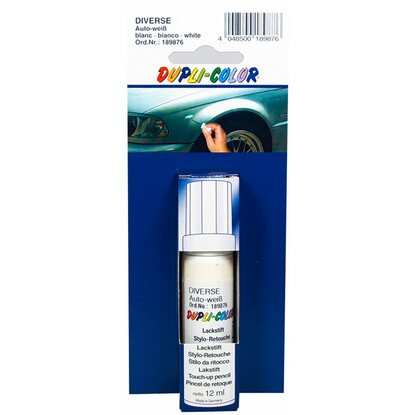 Dupli-Color Auto Weiß Lackstift 12 ml