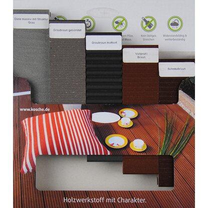 kovalex musterpaket wpc terrassendielen kaufen bei obi. Black Bedroom Furniture Sets. Home Design Ideas