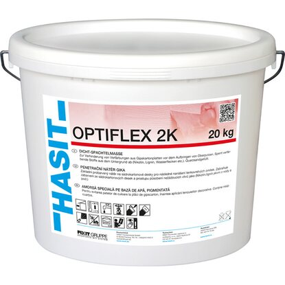 Hasit Optiflex 2K Dicht-Spachtelmasse