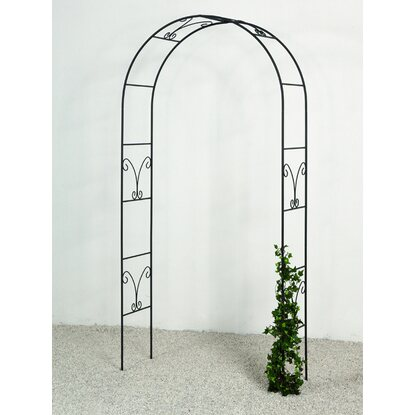 takasho rosenbogen ronja schwarz kaufen bei obi. Black Bedroom Furniture Sets. Home Design Ideas