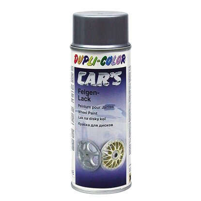 Dupli-Color Lackspray Cars Felgensilber Alu 400 ml