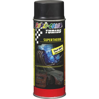 Dupli-Color Lackspray Tuning Supertherm Schwarz 400 ml