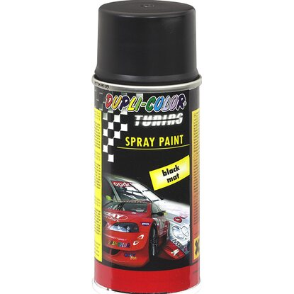 Dupli-Color Lackspray Tuning Schwarz matt 150 ml