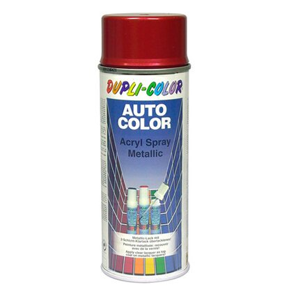 Dupli-Color Auto Color Acryllack-Spray 400 ml Rot Metallic 50-0310