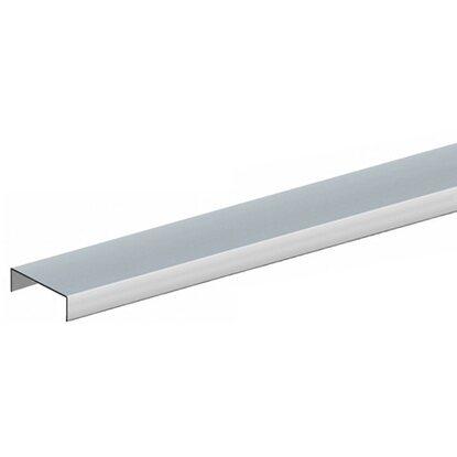 Zaun Zubehor Aufsatzleiste Aluminium Schmal Fur Rahmen 35 Mm 38 Mm