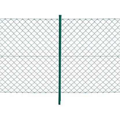 Maschendrahtzaun Komplett-Set 1 m x 15 m Grün kaufen bei OBI