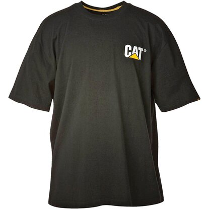 Cat T-Shirt Logo Schwarz L