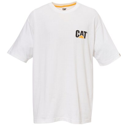 Cat T-Shirt Logo Weiß M