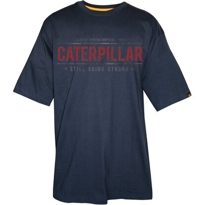 Cat T-Shirt Going Strong Navy L