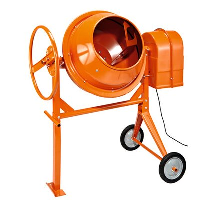 Betonmischer 125 l Orange