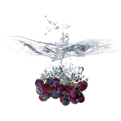 Kitchen Glas Spritzschutz Grape Splash 50 cm x 60 cm