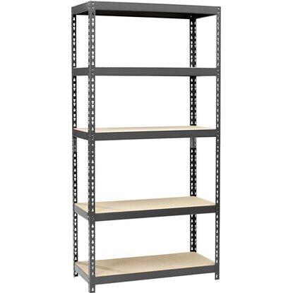 obi metall schwerlast steckregal anthrazit 180 cm x 90 cm x 40 cm kaufen bei obi. Black Bedroom Furniture Sets. Home Design Ideas