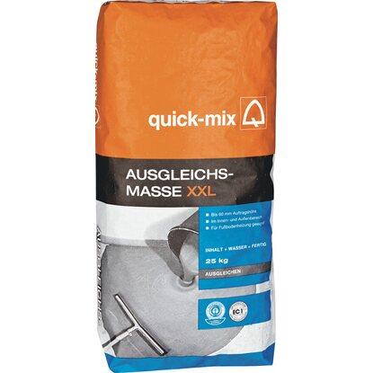Ausgleichsmasse Quick Mix : quick mix ausgleichsmasse xxl bis 60 mm 25 kg kaufen bei obi ~ Michelbontemps.com Haus und Dekorationen