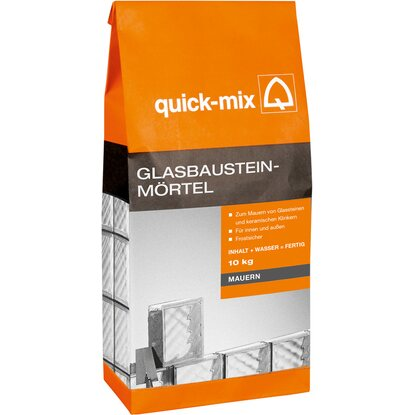 Quick-Mix Glasbausteinmörtel 10 kg