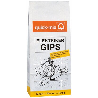 Quick-Mix Elektriker-Gips 6 kg