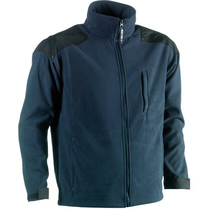 Herock Fleece-Jacke Mercury Marineblau  M