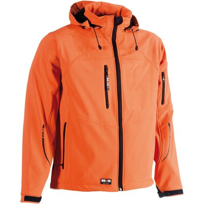 Herock Softshell-Jacke Poseidon Orange XXXL